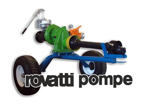 Rovatti PTO Pumps - Irrigation